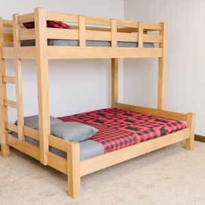 twin xl over queen bunk bed, quality furniture, farmhouse furniture
